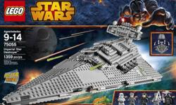 Star Wars Imperial Star Destroyer Lego 75055 New In