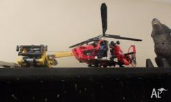 I have some lego for sale 1TH PIC Lego yello machinery