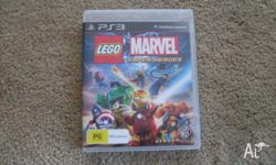 I am selling LEGO MARVEL SUPERHEROES for PS3, only
