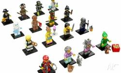 Complete set (16) of LEGO minifigs Series 11, just