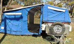 Selling my Leisure Matters Offroad Camper Trailer due