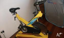 LEMOND REVMASTER GYM SPIN BIKE USED FOR RPM IN GREAT