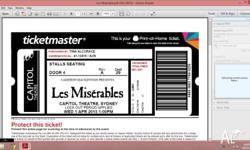 I have two Row A tickets Seats 29 and 30 for Les