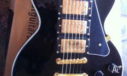 Virtually new Les Paul Black Beauty Custom Copy. Made