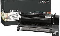 Lexmark 10B041K Genuine Black Toner Cartridge C750,