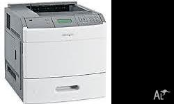 The model is T652/T654 laser printer, still in orginal