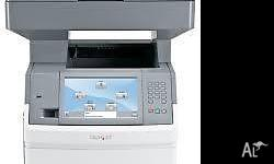 The robust, reliable Lexmark X656de multifunction laser