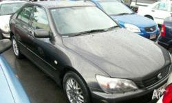 LEXUS,IS200,2003, Black, Sedan, 2L, Petrol - Unleaded