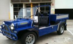 This moke has been fully restored to 0 kms. It has a