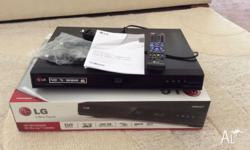 LG 500 GB HD Recorder and 3D Blu-Ray combo. Model