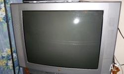Fantastic LG 80cm colour tv with remote and HD set top