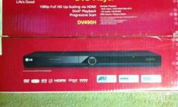 We are selling our used LG DVD Player 1080p Full HD