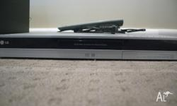 LG DR165 DVD Player/Recorder *As New in fantastic
