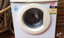 The washing machine is a top brand LG Intellowasher.