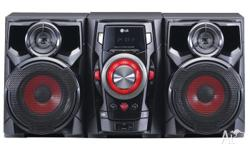 Great stereo system that supports CD, radio, usb, ipod,