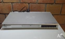 LG DVD player in good condition with cords and remote