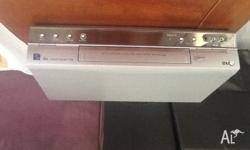 LG VCR recorder/ player. New condition, in spare room