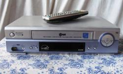 LG VCR Video Cassette Recorder - Model: EC470W - Made