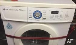I'm selling this 7.5KG front-loader washing machine.