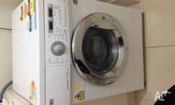 Washing Machine load 7kg Dryer load 4kg This machine in
