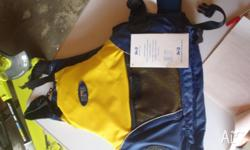 Adult large 60kg and over yellow RFD Exodus PFD type 2