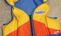 Adult Size 'S' PFD 1 life jacket. Suitable for body