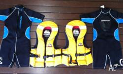 2 x Junior/Childs (22 to 40kg) Hutchwilco life jackets
