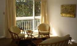 1 bedroom partly furnished unit. Cosy, clean and neat