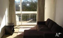 Sunny 1 bedroom partly furnished unit in a friendly