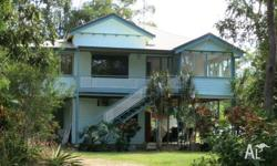 A charming 3 bedroom Queenslander with polished timber