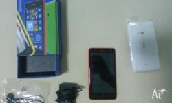Up for sale is a lightly used Nokia Lumia 625. It is