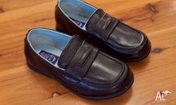 Black school shoes size 13 from Japan. Lightweight and