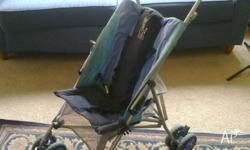 Lightweight pram/stroller-needs a wash. otherwise good