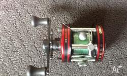 Great condition Abu Garcia reel red never had problems