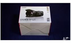 CANON LEGRIA HF G25 32GB HDD Professional Camera like