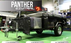 Limited Edition Ezytrail Panther Camper Trailer with a