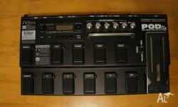 Excellent condition. The Line 6 POD XT Live Pedal is