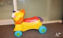 Amazing car for kids from 12 months and it has holder