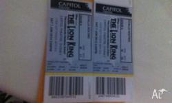 Sydney Capital Theatre Lion King Musical Tickets . Date