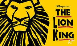 2 x producer package tickets for the lion king on the