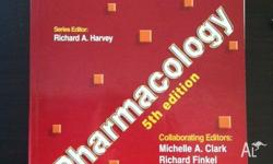 Pharm book for sale that is in very decent condition.