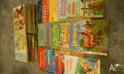 60 Little Golden Books. Many different titles. Sure to