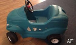 Little Tikes Green Car Stickers can be replaced by