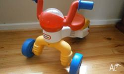 Little Tikes kids ride-on/bike without pedals. Very