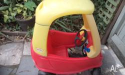 LITTLE TIKES RED CAR. Excellent Condition. Red Car with