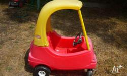 Little Tikes Cozy Coupe Car, Red, in good used