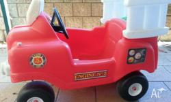 Little Tikes Spray & Rescue Fire Truck for sale. Very
