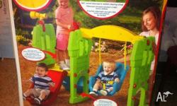 brand new in the box little tikes swing along castle.