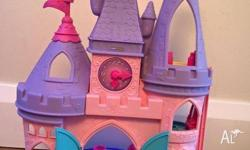 1. LittlePeople princess castle with Cinderella & Snow