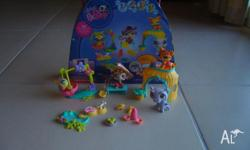 Littlest Pet Shop. Pets in the Jungle. This set